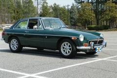 MGB GT '74 Green Mallard