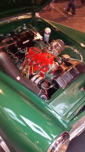 You could eat your dinner off this engine, it was so immaculate!