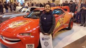 Onur meets Lightning McQueen