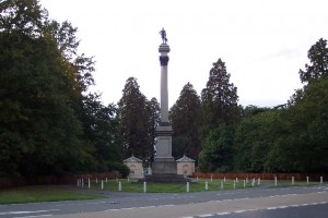 The Duke of Wellington column on the A33 between Basingstoke & Reading.