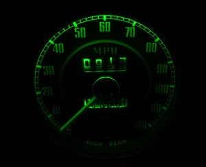 New dashboard LED's